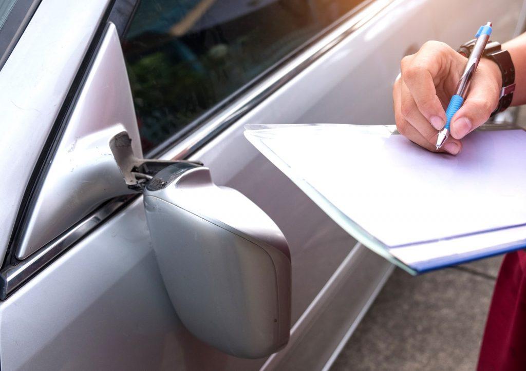 Fahrzeugbewertung Unfallschaden